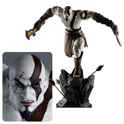 God Of War Kratos 1 4 Scale Statue