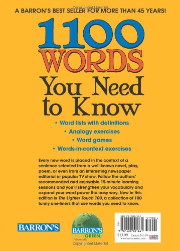 1100 Words You Need to Know: Amazon in: Murray Bromberg