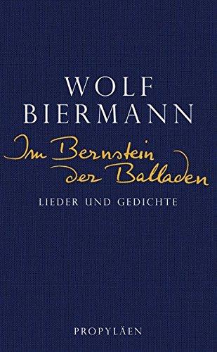 Buch Im Bernstein Der Balladen Lieder Und Gedichte Wolf