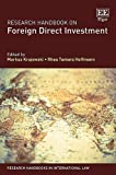img - for Research Handbook on Foreign Direct Investment (Research Handbooks in International Law series) book / textbook / text book