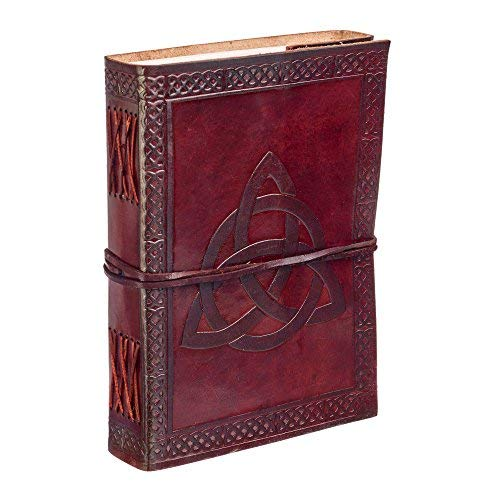 Paper High Celtic Trinity Knot Leather Journal Notebook ()