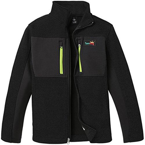 Teenking Boy Outdoor Jacket Fleece Lined Full Zip