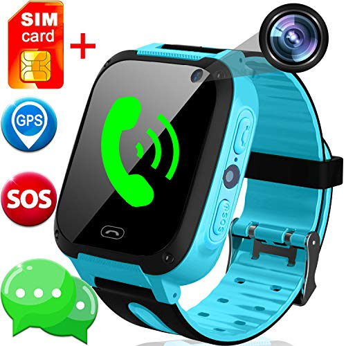 SIM Card Included Kids Smart Watch with GPS Tracker- 1.44