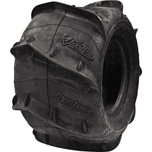 Sedona Cyclone Sand Paddle Tire - Rear Left - 20x11x9L , Position: Rear, Rim Size: 9, Tire Application: Sand, Tire Size: 20x11x9L, Tire Type: ATV/UTV CY20119L (Paddle Rim)