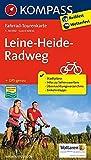 Leine-Heide-Radweg: Fahrrad-Tourenkarte. GPS-genau. 1:50000. (KOMPASS-Fahrrad-Tourenkarten, Band 7057)
