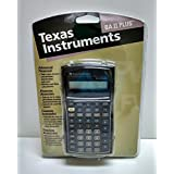 1996 Texas Instruments Advanced Business Analyst BAII PLUS Financial Calculator w/Cover by Texas Instruments