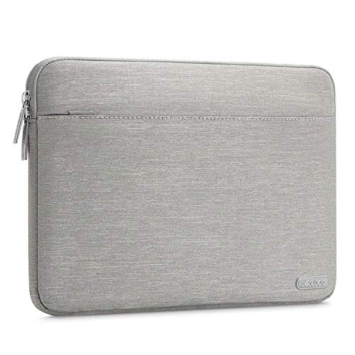 MOSISO Laptop Sleeve Bag Only Compatible MacBook 12-Inch with Retina Display 2017/2016/2015 Release, Spill Resistant Polyester Horizontal Protective Carrying Case Cover, Gray by MOSISO