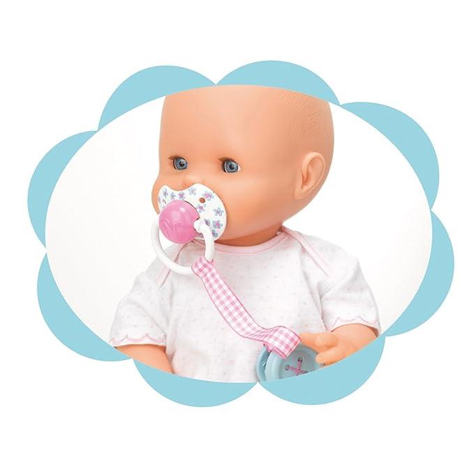 Nenuco Chupete con Botón, Color Azul (Famosa 700011201)