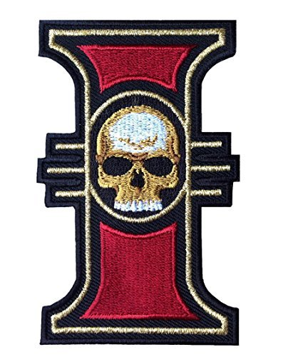 Iron on Patch Inquisition Warhammer 40000 World Order (Console Emblem)