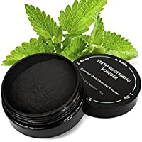 All Natural Coconut Activated Charcoal Teeth Whitening Powder - Safe Effective Tooth Whitener Solution! (30g, All Natural)