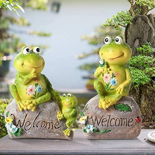 Gaidenly Frogs Garden Figurines Outdoor Decor