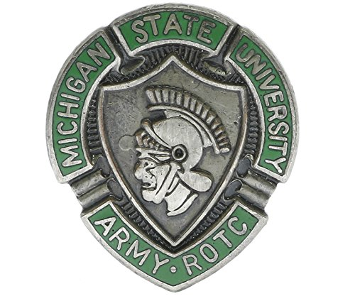 Wwii Lapel Pins (Michigan State University ROTC Hat or Lapel Pin Hon512805)