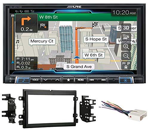 "Alpine 7"" Bluetooth Receiver w/Navigation/GPS/Carplay for 2004-2006 Ford F-150"