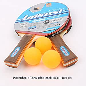 Leikesi Raqueta de tenis de mesa 2112B Mango largo Golpear ...