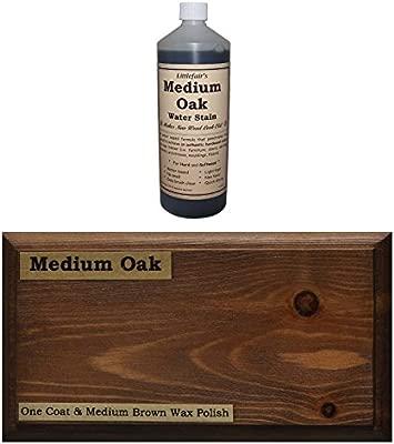 Tinte para madera a base de agua de Littlefairs, respetuoso con ...
