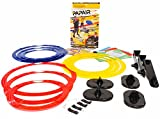 Papair Indoor Obstacle Course Game: Great for Kids Drones, Toy Helicopters & Paper Airplanes | Easy Shooting Target for Toy Guns, Bow & Crossbow | Create Party Games or Drone Race with 9 Rings