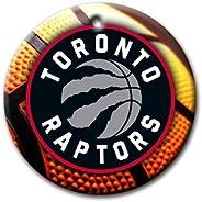 MYDply Raptors Basketball Ornament Round Porcelain Christmas Great Gift Idea Toronto