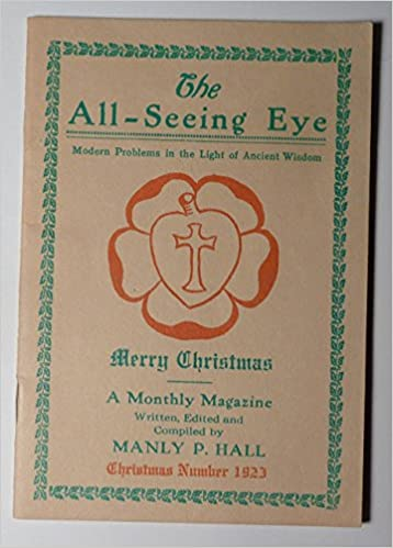 The All-Seeing Eye - Merry Christmas - Modern Problems in the Light of  Ancient Wisdom: Manly P. Hall: Amazon.com: Books