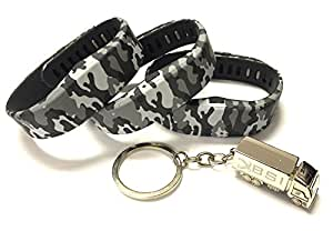 3pcs Replacement Camouflage Army Camo Military Bands & Metal Clasps For Sony Smartband Wrist Strap Bracelet Smart Wristband Wireless Activity Bracelet Sport Bracelet Sport Arm Band Armband