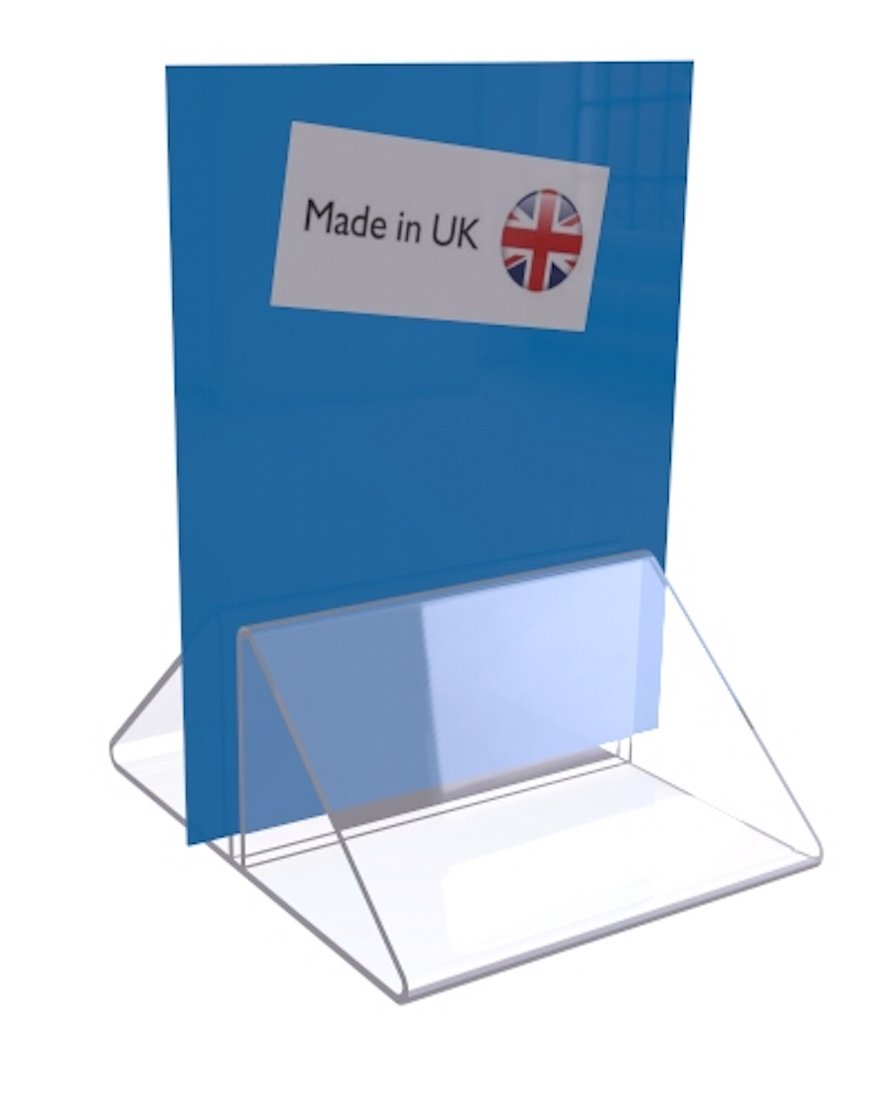 10x 50mm long menu stand place - name place - menu holders - wedding table name holders MENU CARD HOLDER SHOWCARD POSTER FREE DELIVERY !!! pop Display