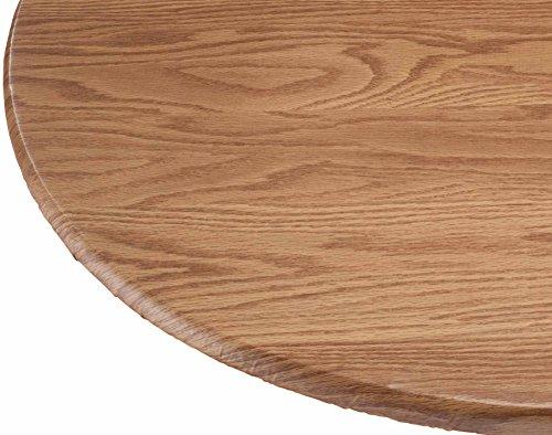 Wood Grain Vinyl Elastic Table - Snap Woodgrain