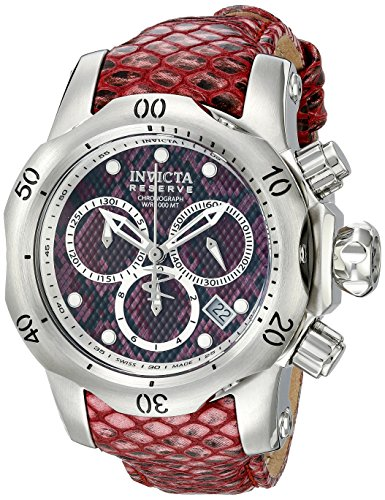 Invicta Women's 18309 Venom Analog Display Swiss Quartz Red Watch