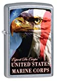 Zippo Lighter: United States Marine Corps, Eagle - Street Chrome 76887