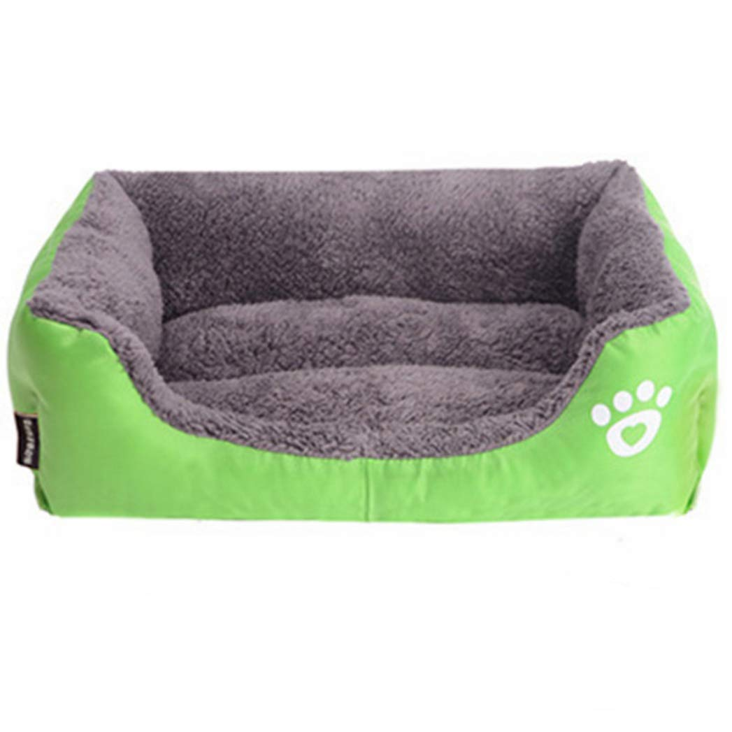 GREEN L GREEN L SENERY Pet Dog Bed Mat,Warming Dog House,Soft Material Nest Dog Baskets,Fall and Winter Warm Kennel for Cat Puppy Large Pets
