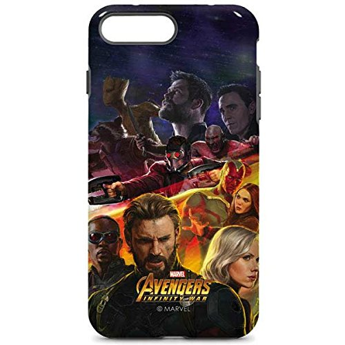 Avengers Iphone 8 Plus Case   Avengers Infinity War Series 1   Marvel   Skinit Pro Case
