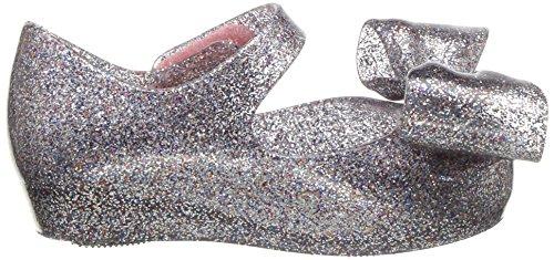 Mini Melissa Girls' Mini Ultragirl Bow III Ballet Flat, Multicolor Glitter, 10 Medium US Toddler - Image 7