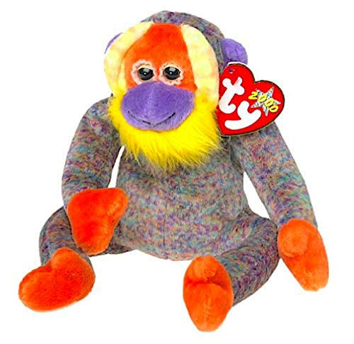 TY Beanie Babies Collection - Bananas the Monkey Beanie Baby