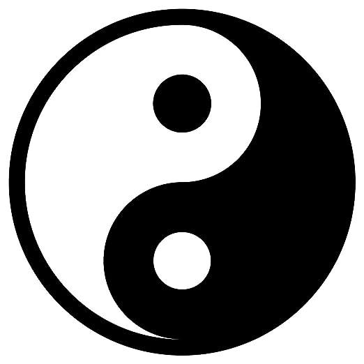 Bebé de Seguridad de Reflector de Yin Yang aufbügler, Yoga ...