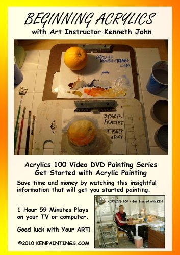 Beginning Acrylics 100 - Get Started