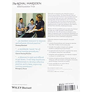 The Royal Marsden Manual of Clinical Nursing Procedures, Professional Edition, 9th (Royal Marsden Manual Series)