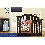 New 8 Pieces Baby Boy Sport Crib Bedding Set