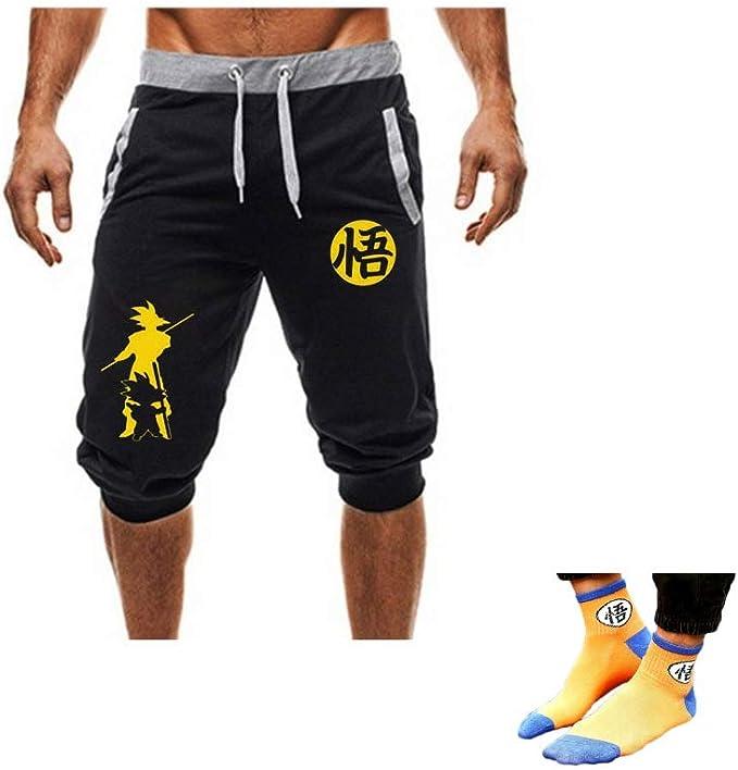 Goku Dragonball Z Super Athletic Training Shorts Joggers ...