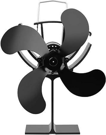 DuDuDu 4 Cuchillas Calor Potencia Estufa Ventilador electrónico No ...