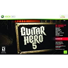 Xbox 360 Guitar Hero 5 Guitar Bundle