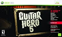 Xbox 360 Guitar Hero 5 Guitar Bundle