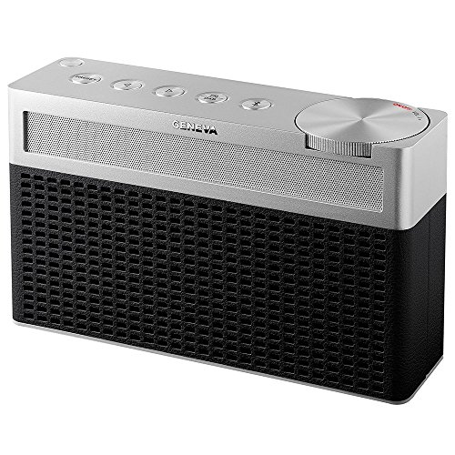 "Geneva Digitale radio DAB+/FM + Bluetooth-luidspreker""Touring S"" zwart"