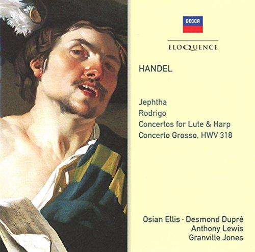 Handel: Jephtha / Rodrigo / Concertos For Lute & Harp