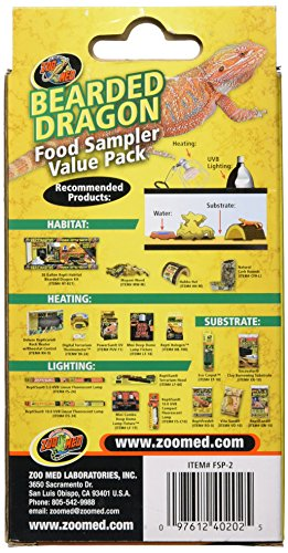 Zoo Med Laboratories SZMFSP2 Bearded Dragon Food Sampler by Zoo Med (Image #2)