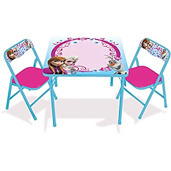 Amazon.com: Disney Frozen Erasable Activity Table Set with 3 Markers ...