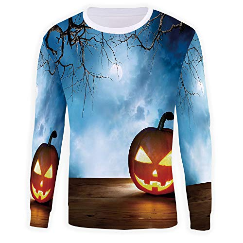 iPrint Unisex 3D Fashion Digital Graphic Print,Halloween,Pullover Hoodie -