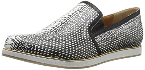 Segnalare La Firma Delle Donne Corbett Fashion Sneaker Black / White Snake