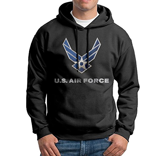 UFBDJF20 US Air Force Blue Men's Fleece SweatshirtBlack - Mens Sunglasses Academy