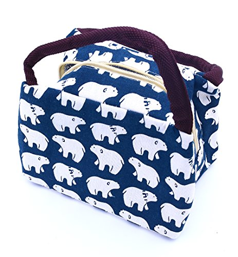 lovestown-lunch-bag-insulated-lunch-tote-soft-bento-cooler-bagpolar-bear