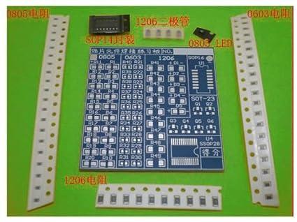 SMT SMD Component Welding Practice Board Soldering Practice Electronic DIY Kit