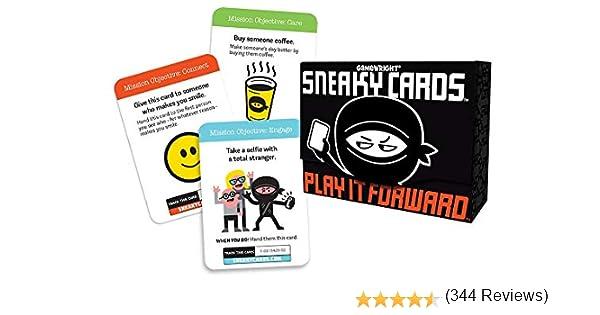 Tarjetas Sneaky de Gamewright: Amazon.es: Juguetes y juegos