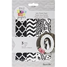 """Deco Art Decoupage Paper (3 Pack), 12"""" by 16"""", Silver Trends"""